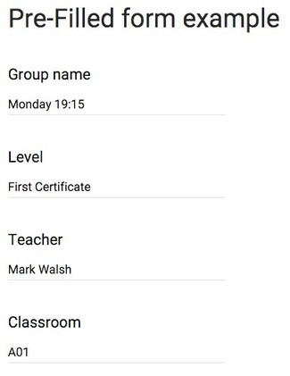 Personalized Google Forms   Using Google Drive in the classroom   Scoop.it