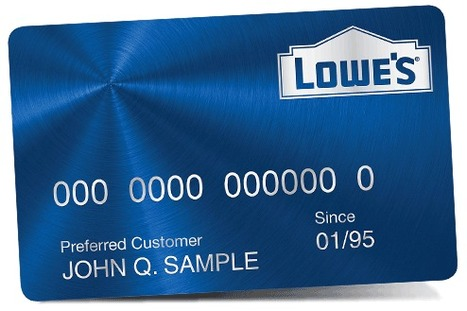 Lowes Credit Card Login | outbled | Scoop.it