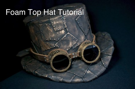 How To Make A Top Hat, DIY Steampunk Fashion Pattern Tutorial - YouTube | nouvelle piece | Scoop.it