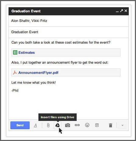 Gmail ya permite enviar adjuntos de hasta 10 Gigas, usando Google Drive | google + y google apps | Scoop.it