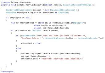 CRUD Operation In DataGrid In WPF   C#.NET   Scoop.it