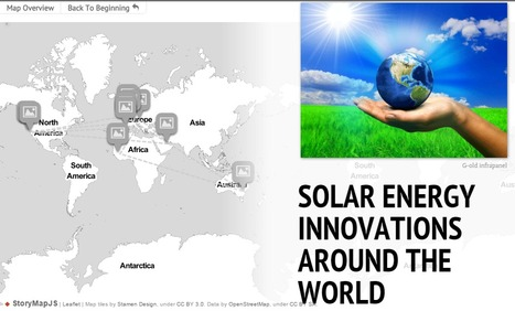 A map of solar innovations around the world | Green Innovation | Scoop.it