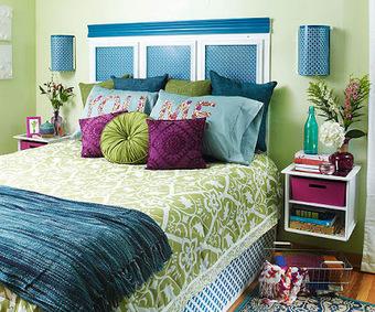 Avant / après : une chambre fraiche et colorée! | DIY | Scoop.it