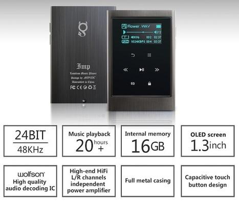 Test AGPtEK IMP : un baladeur audiophile low-cost aux performances pas du tout ridicules | ON-TopAudio | Scoop.it