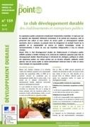 Le club développement durable des établissements et entreprises publics - Ministère du Développement durable | Développement durable en entreprise | Scoop.it