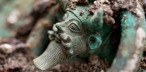 EN IMAGES. Découverte d'une tombe princière celte exceptionnelle près de Troyes | Inspiration Rôlistique | Scoop.it