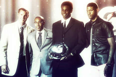 Kansas' Andrew Wiggins Honored as HS Athlete of the Year at ESPYs, Debuts Jersey   We're playin' baaaasketbal   Scoop.it