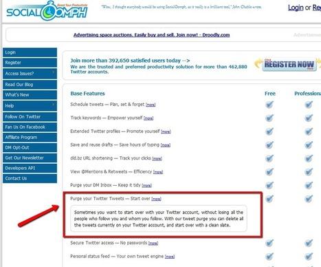 Un servicio gratis para eliminar o borrar tus tweets y limpiar tu cuenta en Twitter | vdfsdf | Scoop.it