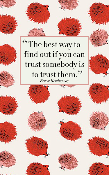 Do you trust people easily? | El poder liberador de los libros | Scoop.it