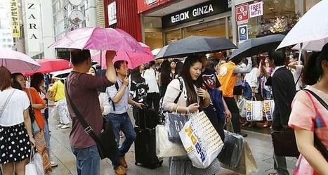 Les touristes chinois plébiscitent le Japon | Médias sociaux et tourisme | Scoop.it