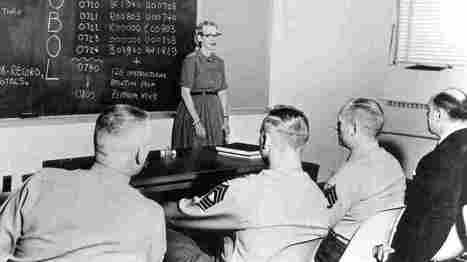 Grace Hopper, 'The Queen Of Code,' Would Have Hated That Title | Teacher Tools and Tips | Scoop.it