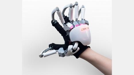 Ce gant robotisé permet de toucher des objets virtuels   L'innovation dans la filière cuir   Scoop.it