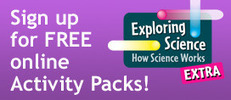 Exploring Science Extra! Topical Activity Packs for your classroom   Secondary Science Scoop   Scoop.it