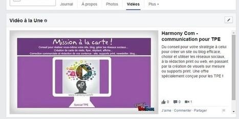 Ajouter une vidéo à la partie «à propos» de Facebook | La Veille Web de Sandra | Scoop.it