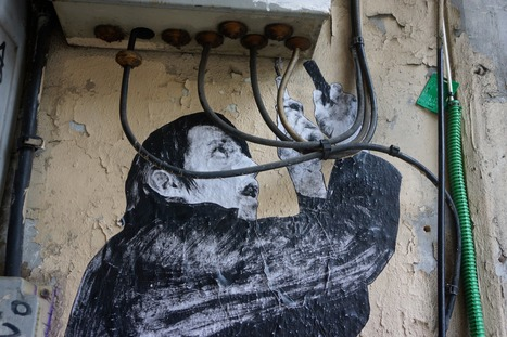 Jérôme Deiss : Paris - Le disjoncteur - Levalet | Photographies street-art | Scoop.it