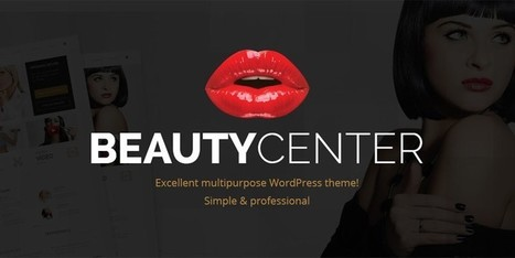 PE Beauty Center WordPress Theme: Elegance At Its Best | Free & Premium WordPress Themes | Scoop.it