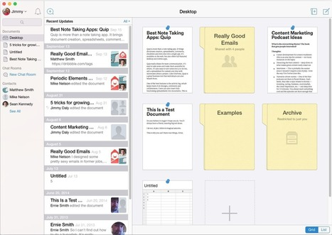 Evernote, OneNote, and Beyond: The 12 Best Note-Taking Apps | Evernote, gestion de l'information numérique | Scoop.it