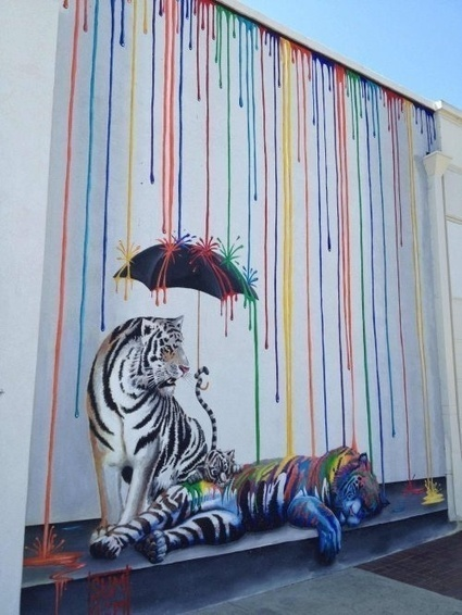 35 Graffiti Images Making Hilarious Use Of Their Surroundings | Just Story It! Biz Storytelling | Scoop.it