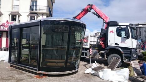 Brest. La première cabine de téléphérique est arrivée | transports par cable - tram aérien | Scoop.it