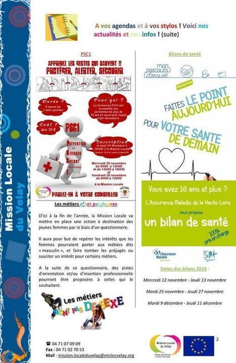 Le Petit Journal de la Mission Locale du mois de novembre ! | Culture Mission Locale | Scoop.it