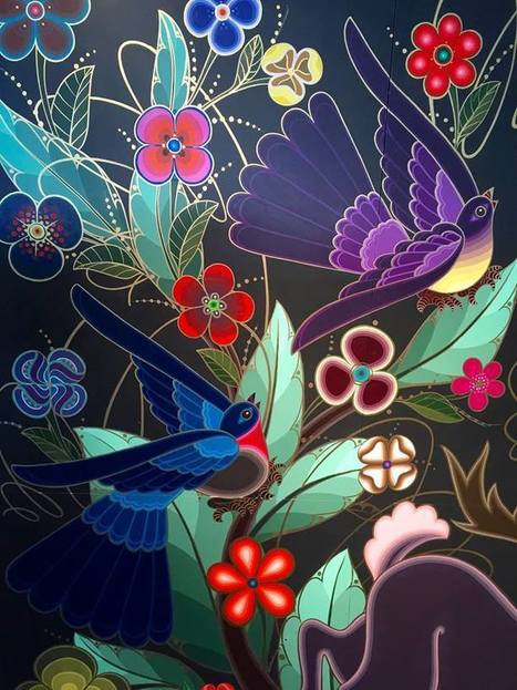 #Bold #Murals Pay Tribute to #Mexican #Arts and #Crafts #art #colour | Luby Art | Scoop.it