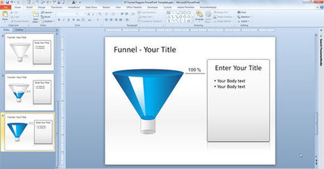 Free Editable Funnel Diagram for PowerPoint | PowerPoint Presentation | Graphic Design in Australia | Scoop.it