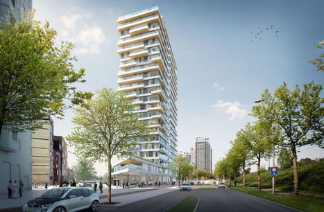 The Netherlands' Tallest Timber Tower to be Built in Amsterdam | Building with wood | Scoop.it