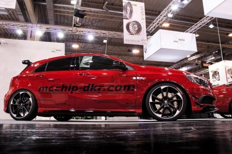 Mercedes-Benz A45 AMG by Mcchip-DKR | Mercedes-Benz Picture | Scoop.it