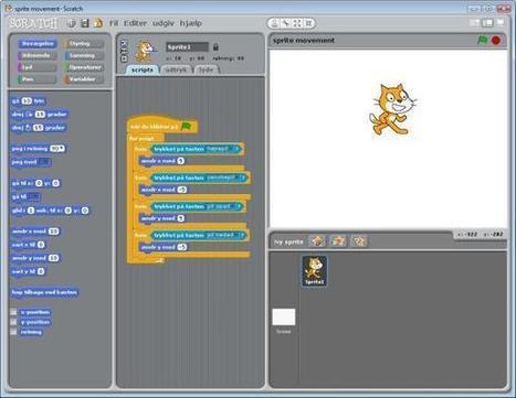 Lær dit barn at programmere Scratch   Læreruddannelsen på Fyn   Scoop.it
