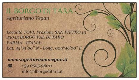 Il Borgo di Tara - Agriturismo - Borgo Val Di Taro - Parma | Ristoranti Pub Ritrovi Vegan-Vegetariani | Scoop.it