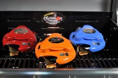 Le Grillbot est un robot qui nettoie la grille du barbecue | Robotique de service | Scoop.it
