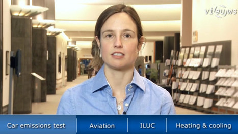 VIDEO: EU Briefing on Environment: Car emission, Aviation, ILUC, Heating & Cooling, BPA and Carbon Market Reform | EU Environment | Scoop.it