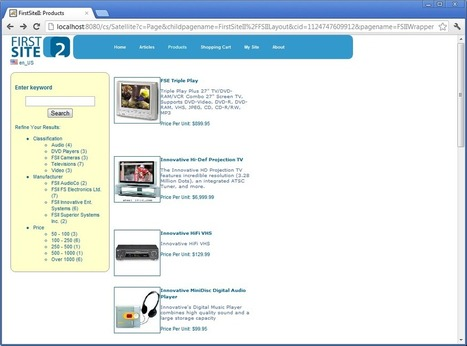 WebCenter Sites Demo Integration with Endeca Guided Search | Oracle Endeca | Scoop.it