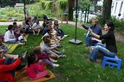 """Escapages: """"Lire dans les parcs"""" par la Bibliothèque communale de ...   Innovations en bib municipale   Scoop.it"""