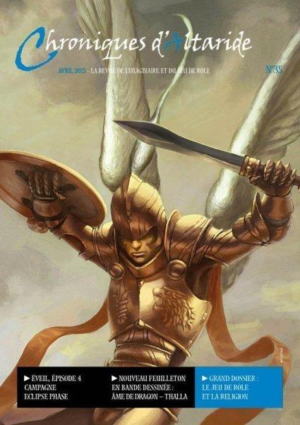 La guilde d'Altaride : Chroniques d'Altaride N°35 Avril 2015 La Religion | Jeux de Rôle | Scoop.it