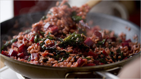Recipes for Health - Risotto With Beet Greens and Roasted Beets - Recipe - NYTimes.com | Personal | Scoop.it