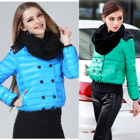 Discount NEW Korean Fashion women's down jackets winter casual outerwear Down & Parkas in women down parkas on sightface.com | Latest for share | Scoop.it