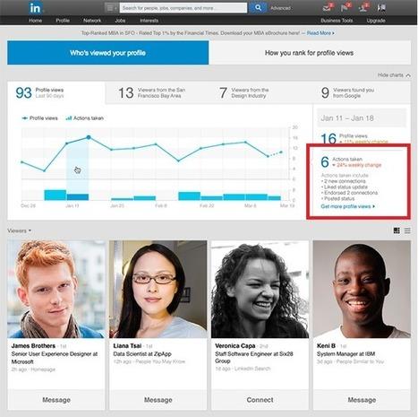 Linkedin vous dit pourquoi votre profil a été visité - #Arobasenet | OPTIMISER SA PRESENCE SUR LINKED IN VIA SCOOP.IT ET PHILIPPE TREBAUL | Scoop.it