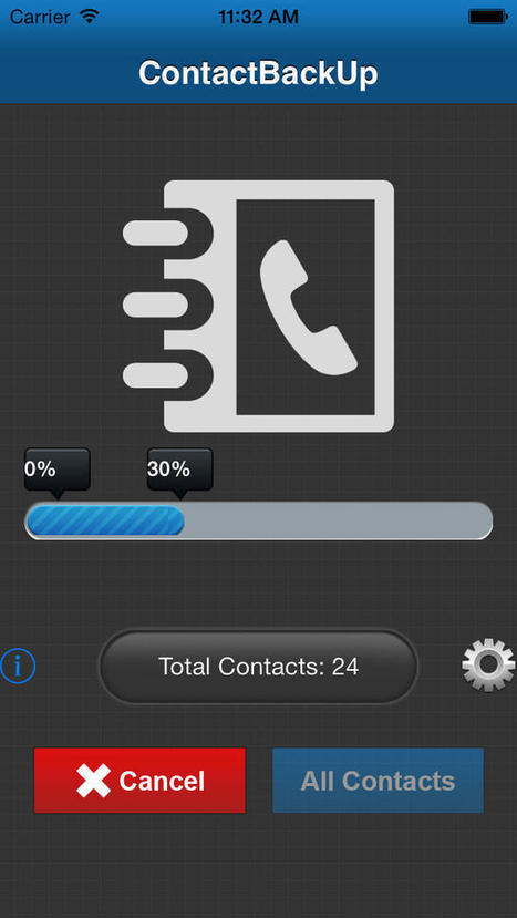 Free Contacts Backup Lite - 1.1 / iOS | Contact Backup | Scoop.it