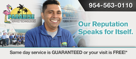 Plumbing Services and Air Conditioning Maintenanc | Paradise Service Technologies | Scoop.it