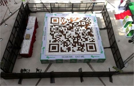 Is This QR Code Cake A Record?   TestingForICTCoursework   Scoop.it