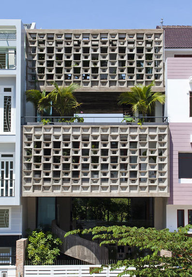 [Ho Chi Minh City, Vietnam] Binh Thanh House by Vo Trong Nghia and Sanuki + Nishizawa | The Architecture of the City | Scoop.it
