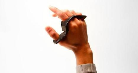 Le clavier se porte en wearable pour plus de mobilité ~ L'Actu Web d'Edith | JPBlog Technoselect | Scoop.it