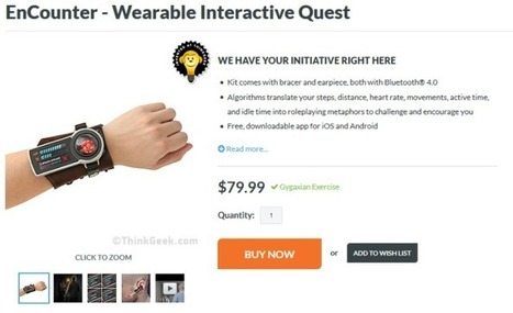 EnCounter - le bracelet de Quête Interactive | And Geek for All | Scoop.it