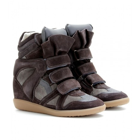 UPERE Wedge Sneakers Suede Leathe Brown - $198.00 | UPERE Wedge Sneakers Show | Scoop.it