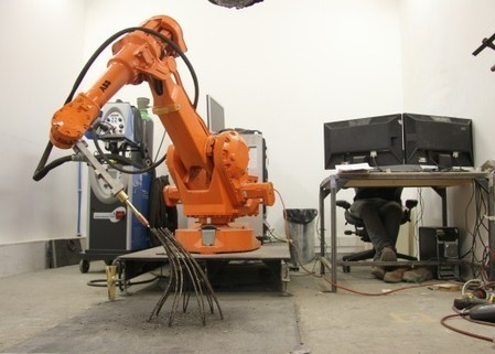3D-printing robot creates freestanding metal structures | Innovation at the Verge | Scoop.it