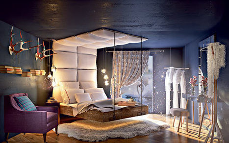 Eco living: a fantasy bedroom - Telegraph.co.uk | Green Thoughts | Scoop.it