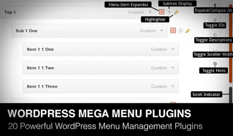 Comment on 20 Powerful Responsive WordPress Menu Management Plugins by 30 Powerful jQuery Responsive Navigation Menus of 2013 | Daily Design Notes | Scoop.it