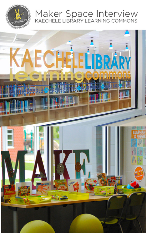 Makerspace. TinkerSpace: Library Learning Commons - TinkerLab | SchoolLibrariesTeacherLibrarians | Scoop.it