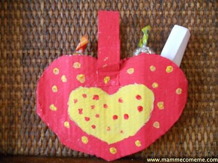 Mamme come me: San Valentino: borsetta di cartone | Lavoretti | Scoop.it